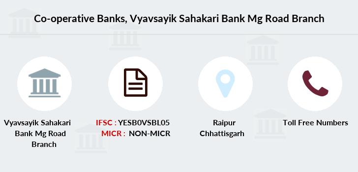 Co-operative-banks Vyavsayik-sahakari-bank-mg-road branch