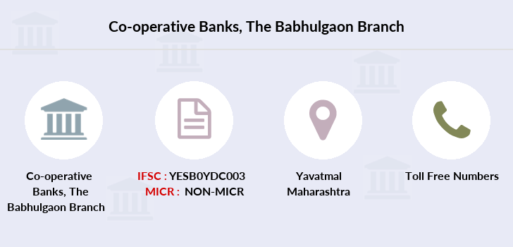 Co-operative-banks The-babhulgaon branch