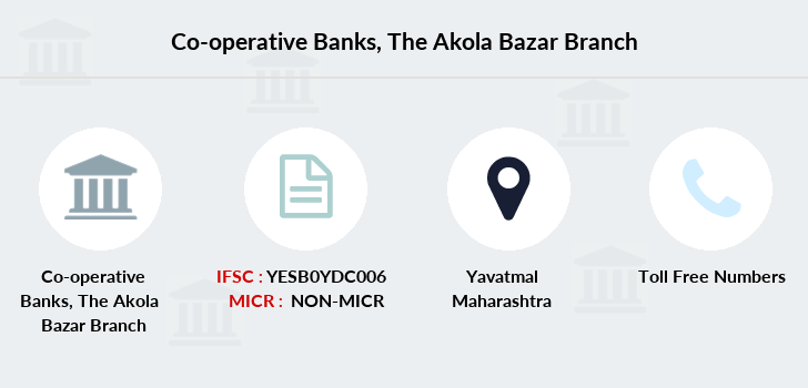 Co-operative-banks The-akola-bazar branch