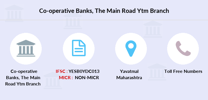 Co-operative-banks The-main-road-ytm branch
