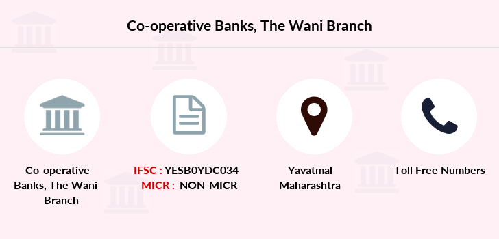Co-operative-banks The-wani branch