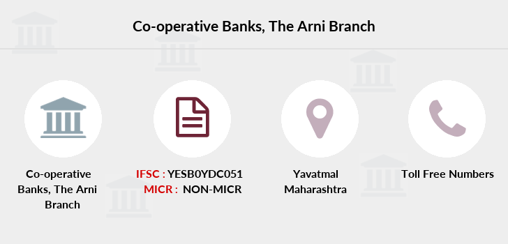 Co-operative-banks The-arni branch