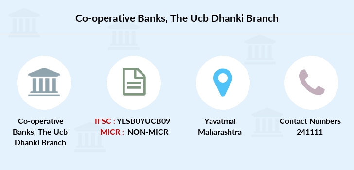 Co-operative-banks The-yavatmal-ucb-dhanki branch