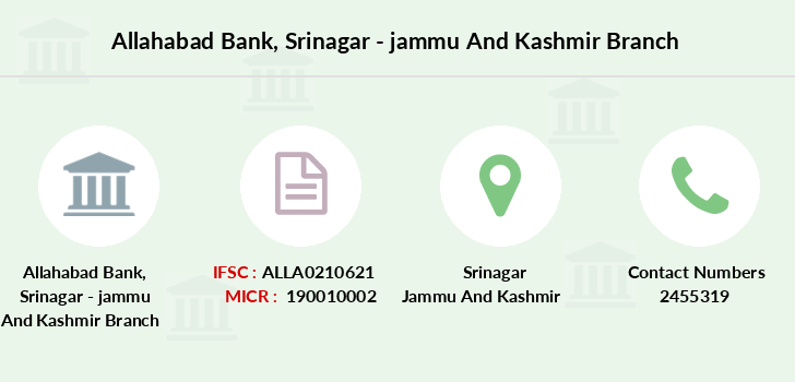 Allahabad-bank Srinagar-jammu-and-kashmir branch