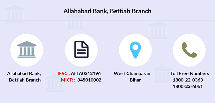Allahabad-bank Bettiah branch