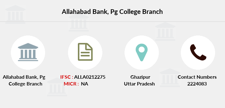 Allahabad-bank Pg-college branch
