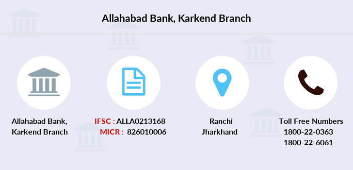 Allahabad-bank Karkend branch