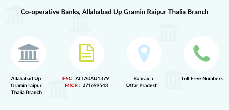 Co-operative-banks Allahabad-up-gramin-raipur-thalia branch