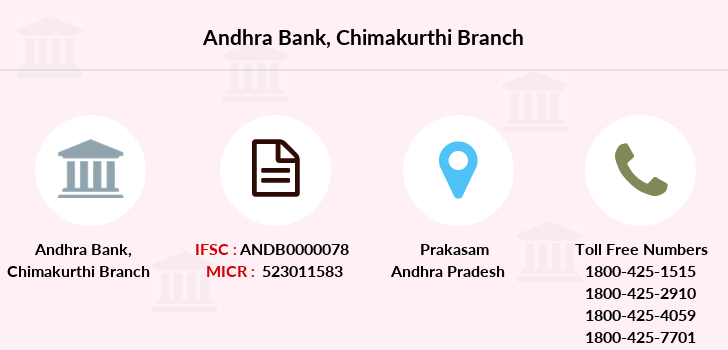 Andhra-bank Chimakurthi branch