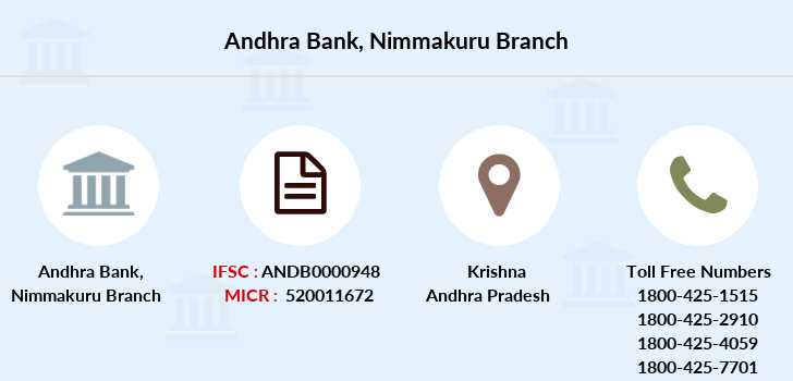 Andhra-bank Nimmakuru branch