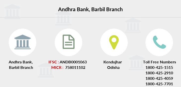 Andhra-bank Barbil branch