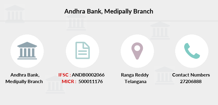 Andhra-bank Medipally branch