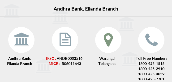 Andhra-bank Ellanda branch
