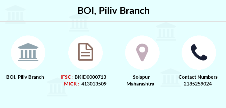 Bank-of-india Piliv branch