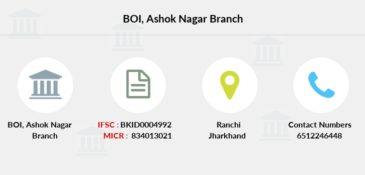 Bank-of-india Ashok-nagar branch