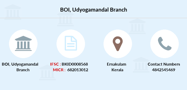 Bank-of-india Udyogamandal branch