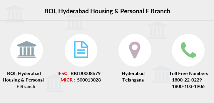 Bank-of-india Hyderabad-housing-personal-f branch