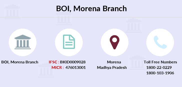 Bank-of-india Morena branch