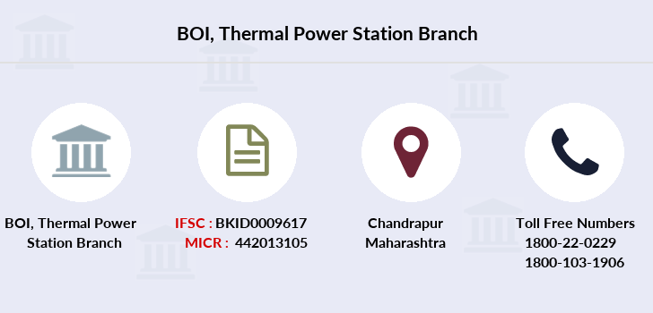 Bank-of-india Thermal-power-station branch