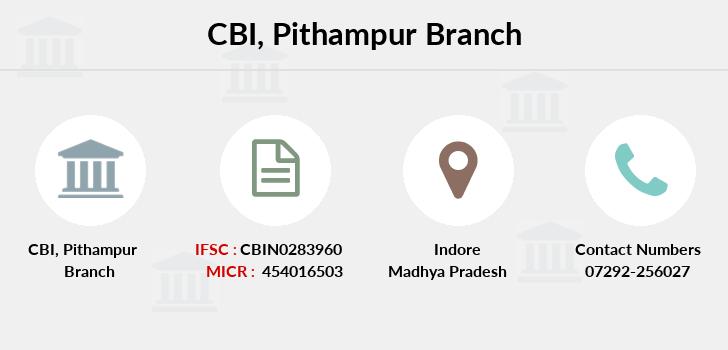 CBI Pithampur IFSC Code CBIN0283960