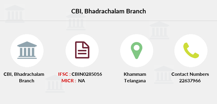 Central-bank-of-india Bhadrachalam branch