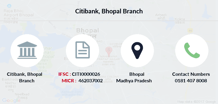 Citibank Bhopal branch