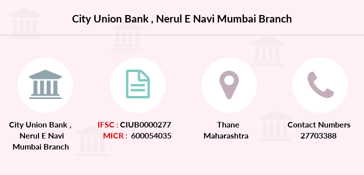 City-union-bank Nerul-e-navi-mumbai branch