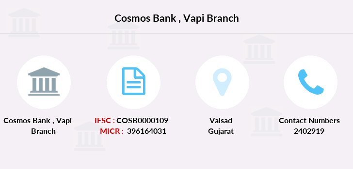 Cosmos-co-op-bank Vapi branch