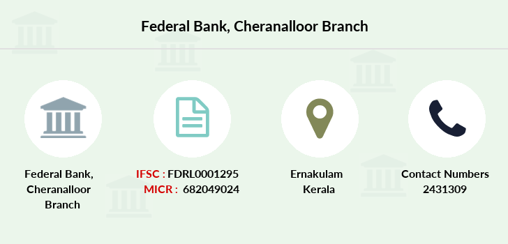 Federal-bank Cheranalloor branch