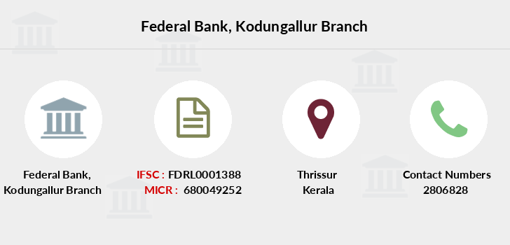 Federal-bank Kodungallur branch