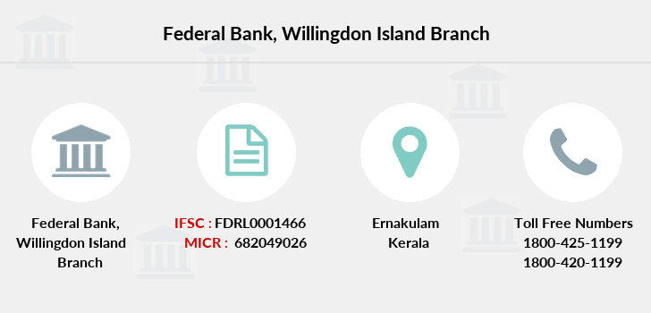 Federal-bank Willingdon-island branch
