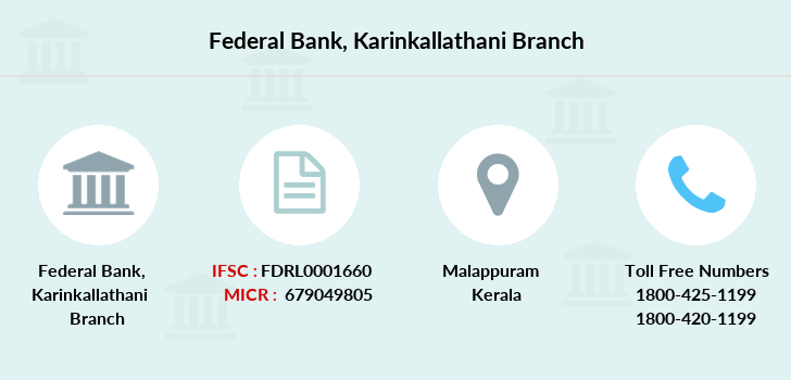 Federal-bank Karinkallathani branch