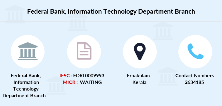 Federal-bank Information-technology-department branch
