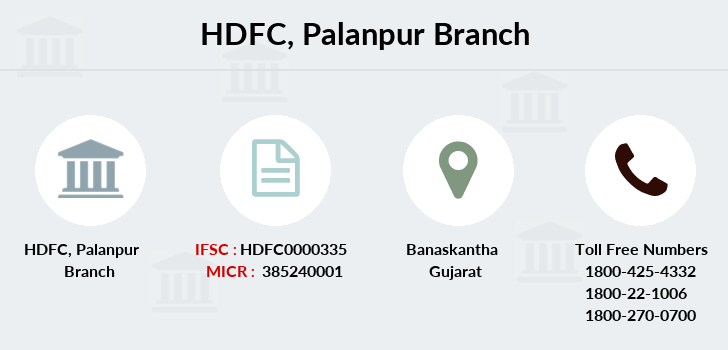 Hdfc-bank Palanpur branch