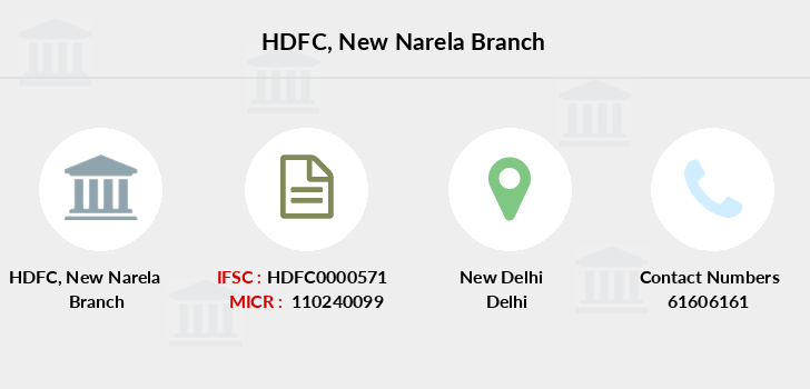 Hdfc-bank New-narela branch
