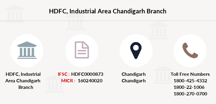 Hdfc-bank Industrial-area-chandigarh branch