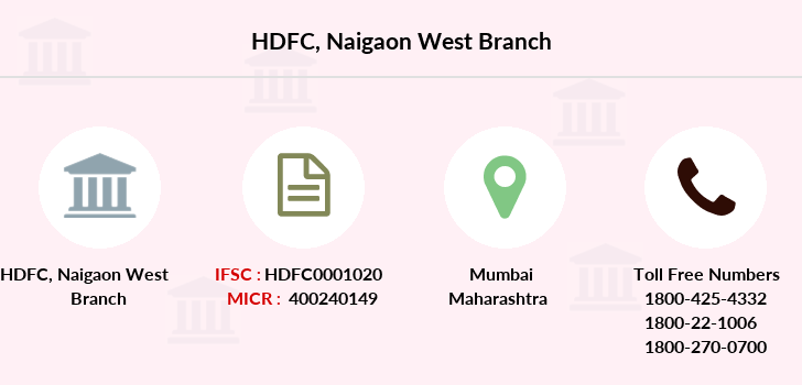 Hdfc-bank Naigaon-west branch