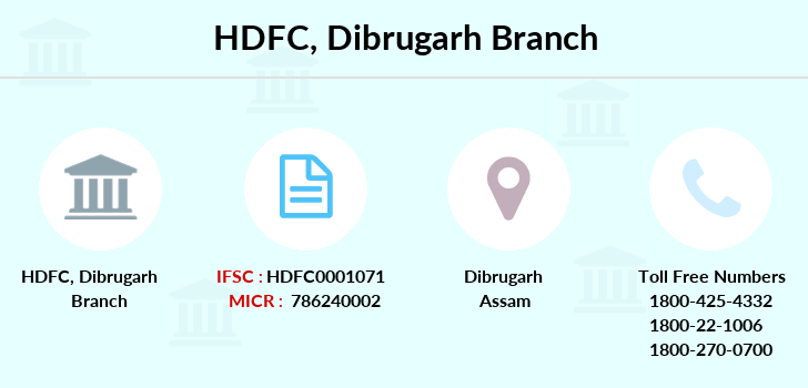 Hdfc-bank Dibrugarh branch