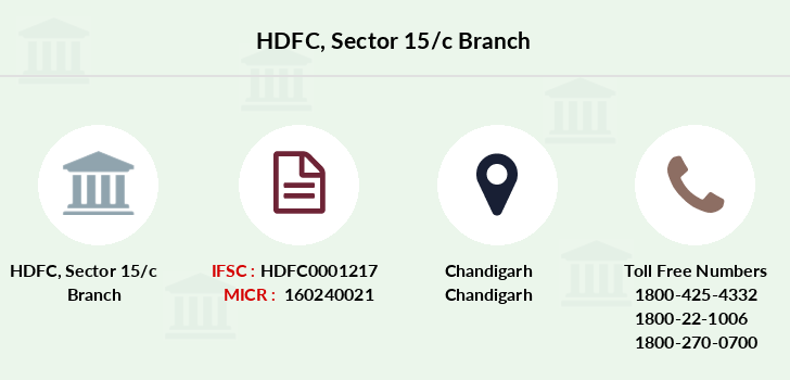 Hdfc-bank Sector-15-c branch