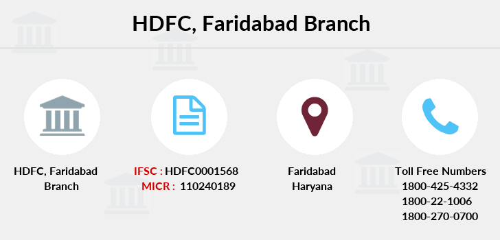 Hdfc-bank Sec-xv-faridabad branch