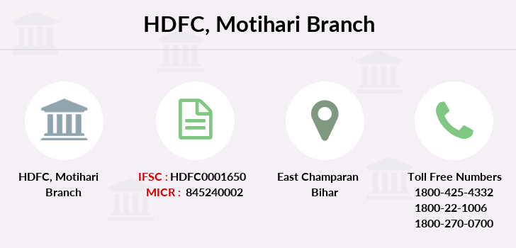 Hdfc-bank Motihari branch
