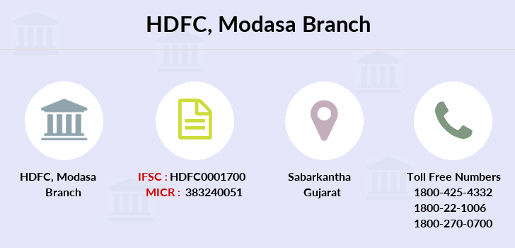 Hdfc-bank Modasa branch