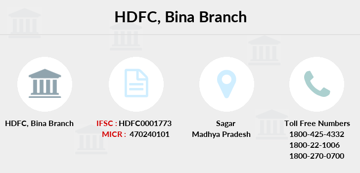 Hdfc-bank Bina branch