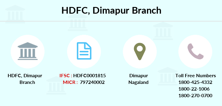 Hdfc-bank Dimapur branch