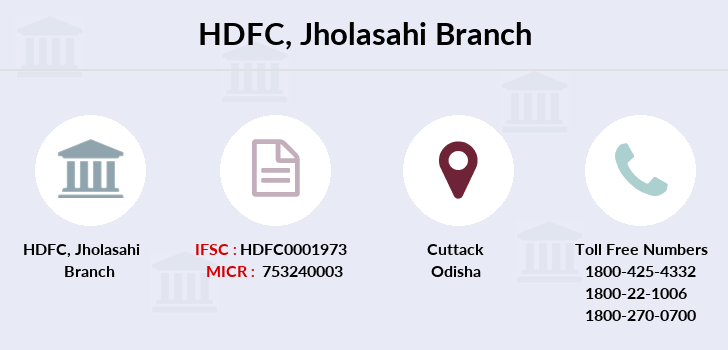 Hdfc-bank Jholasahi branch