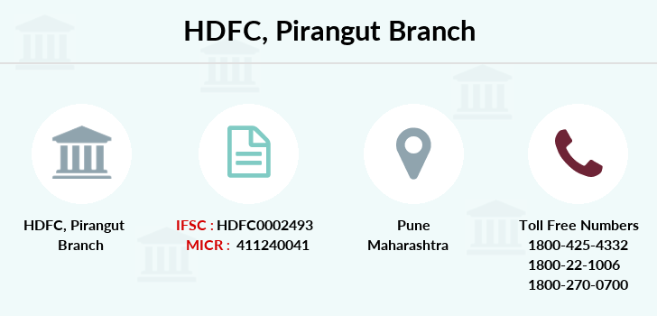 Hdfc-bank Pirangut branch
