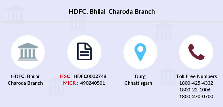 Hdfc-bank Bhilai-charoda branch