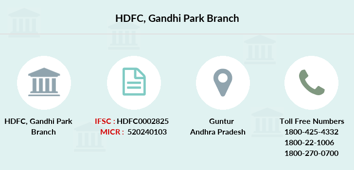 Hdfc-bank Gandhi-park branch
