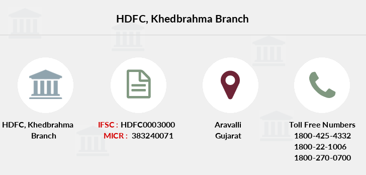 Hdfc-bank Khedbrahma branch