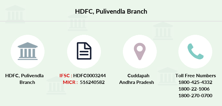 Hdfc-bank Pulivendla branch